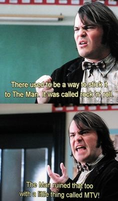 Loved the film School of Rock? was that the name of the movie?