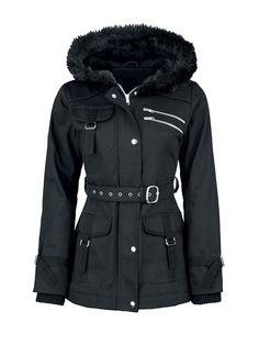 Hooded Flap Pockets Zips Belt Plain Coats Only $37.95 USD More info...