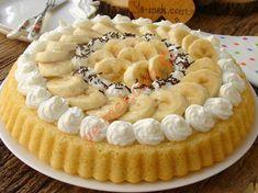 Muzlu Tart Pasta Resmi Pasta Torte, Mini Tortillas, Banana Pie, Quiche, Food Words, Mini Cheesecakes, Relleno, Chocolate Cake, Bakery