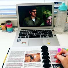 It's a good day when you get to watch Louis Theroux for homework! What are you working on today?