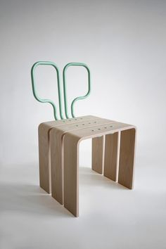 Elena Salmistraro Primitive Number # 3 Chair