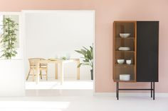 ESKYSS - Habitat. That pale pink wall ks an idea..