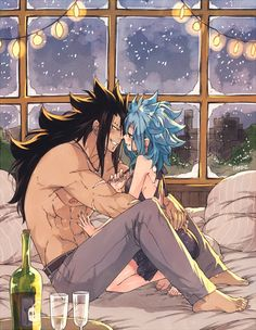 """Rusky🎄Boz // GAJEVY DAY 12/08 on Twitter: """"together, forever #ガジレビの日… """" Gale Fairy Tail, Fairy Tail Nalu, Rog Fairy Tail, Fairy Tail Fotos, Fairy Tail Amour, Fairy Tail Guild, Fairy Tail Ships, Fairy Tales, Couples Fairy Tail"""