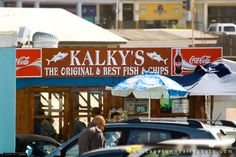 Kalkys in Kalk Bay, Cape Town - a fish n chips institution in Cape Town