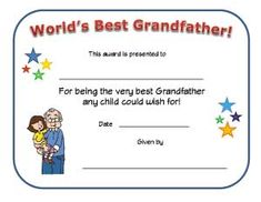 Worlds greatest mom and dad awards free printable best father worlds best dad printable certificate print out this fun certificate to give to your father on fathers day to show him how much you appreciate everything yadclub Gallery