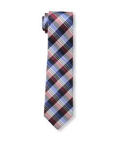 47% OFF Ben Sherman Men's Preppy Plaid Tie, Navy