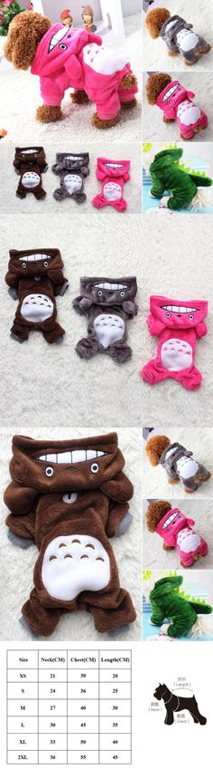 Cute Animals And Animals Stuff: Winter Pet Totoro Cosplay Sweater Hoodie Vest Dog Cat Puppy Cute Costume Clothes -> BUY IT NOW ONLY: $7.59 on eBay!