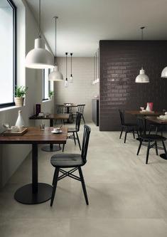 Small Coffee Shop, Coffee Shop Design, Cafe Design, House Design, Modern Loft, Restaurant Interior Design, Decoration Table, Decorations, Commercial Interiors