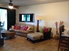 Calm, practical and beautiful villa at the Rio Mar Wyndham Resort.