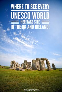 This Map Shows You Where To See Every UNESCO World Heritage Sites In The UK And Ireland (2)