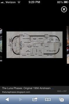 Airstream...floor plan