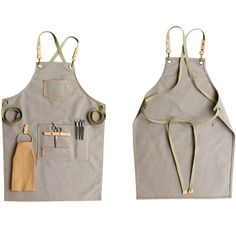Barber Barista Bistro Bartender Work Canvas Apron,Personalized Gift Florist Shop Aprons For Women & Men With Pockets And Towel Loop Barber Apron, Shop Apron, Custom Aprons, Personalized Aprons, Apron Designs, Barista, Bartender, Gift For Lover, Retro Fashion