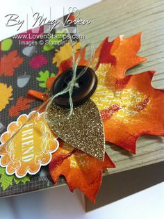 Wonderfall stamp set with the Autumn Accents Big Shot Die