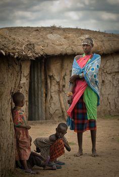Masai village - , Rift Valley༻神*ŦƶȠ*神༺I've been here!!