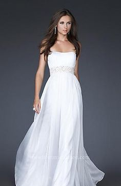 Sexy Sheath Chiffon Long Strapless Sleeveless Prom Dresses kaladress10225