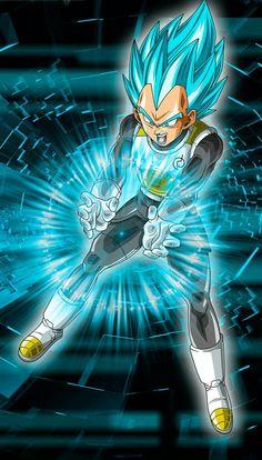 Super Saiyan Blue Vegeta - Visit now for 3D Dragon Ball Z compression shirts now on sale! #dragonball #dbz #dragonballsuper