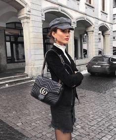 gucci bag, black