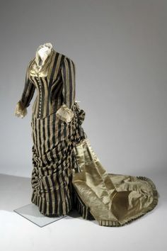 Charles-Frederick Worth, Dress, ca. 1884                                                                                                                                                     More