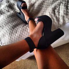 Chunky Heels <3: I NEED THESE!