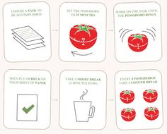 How to use the Pomodoro technique to get stuff done and become more productive! #productivity #pomodoro