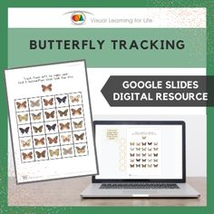 This digitally interactive resource is designed for use with Google Slides. This resource contains 20 slides in total. Answer sheets are included.The student must find all the butterflies that look the same as the example at the top of the page, and drag the circles to mark the correct answers.