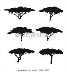"""Képtalálat a következőre: """"african tree silhouette"""""""