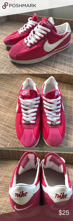new style 3267c 45bdb Vintage Used 2003 Nike Cortez women size 7.5 Very clean for a pair of nikes  from