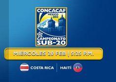 Este miércoles a las 5:25 p.m. vea en Teletica.com el debut de la selección Sub-20 de Costa Rica ante Haití en el Premundial de México