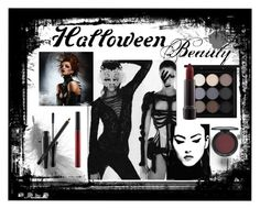 """""""Vampire Beauty"""" by leopoldc ❤ liked on Polyvore featuring beauty and MAC Cosmetics"""