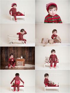 Christmas session two year old. I am so doing something like this with Aiden. What a cutie!