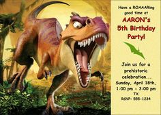 Dinosaur birthday invitation stuff to buy pinterest best free printable dinosaur birthday invitations solutioingenieria Images