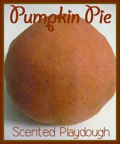 A quick and easy pumpkin pie scented playdough recipe that kids love! Perfect homemade playdough for fall with toddlers and preschoolers! Playdough Activities, Toddler Activities, Class Activities, Pie Craft, Fun Crafts, Crafts For Kids, Thanksgiving Preschool, Thanksgiving Ideas, Easy Pumpkin Pie
