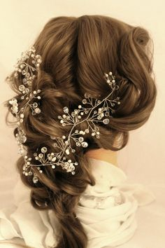 prom hair accessories hair wreath Crystal Headband hair piece
