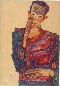 Egon Shiele, 1910
