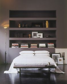 Recessed Shelves in a Tribeca Loft | Remodelista