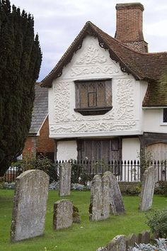 Pargeting - County Museum, Clare, Suffolk