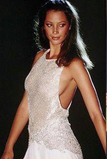 Christy Turlington: Atelier Versace. F/W 1994