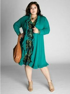 Plus size fashion...perfect for fall!