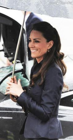 Kate Middleton - wedding hair