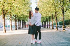 London Southbank Engagement Shoot | Alternative & Creative Wedding Photography UK & Destination | weheartpictures.com
