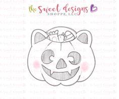 Trick or Treat Kitty Bag - Cutter Halloween Coloring Pages, Kawaii Art, Princesas Disney, Cartoon Wallpaper, Doodle Art, Trick Or Treat, Cute Drawings, Cookie Cutters, Doodles