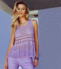 Beach crochet top PATTERN sexy beach crochet por FavoritePATTERNs