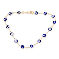 18 Karat Gold-Plated Genuine Crystal Eye Anklet at Savings off Retail! Bow Jewelry, Anklet Jewelry, Women Jewelry, Jewelry Design, Jewlery, Foot Bracelet, Anklet Bracelet, Elephant Anklet, Beach Anklets