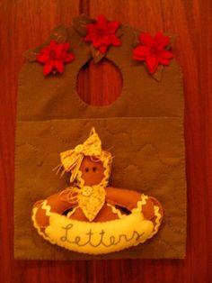 Porta cartões de Natal