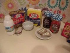 How To Make Doll Size Snack + Cereal Boxes