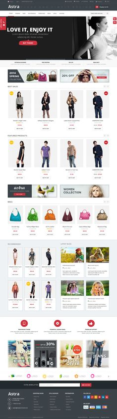 Astra is a responsive multipurpose #Magento theme which is fully customizable and suitable for any kind of Magento #store on any device.