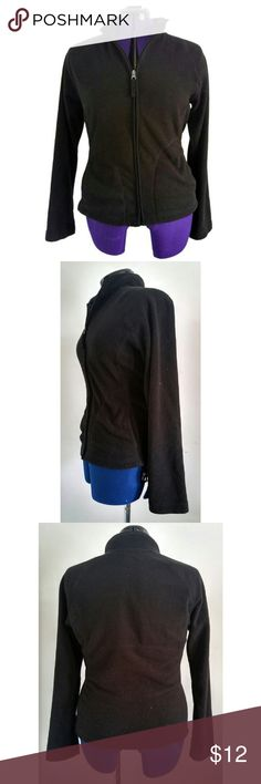 "Merona Fleece Jacket Features: - Ribbon Zipper Pull - 100% Polyester  Measurements: Bust: 40"" Across Shoulders: 16"" Underarm to Sleeve Hem:19 1/2""  Underarm to Hem: 14 1/2""  Choose Earth donates 10% of your transaction's net profit to combat climate change. Merona Jackets & Coats Utility Jackets"