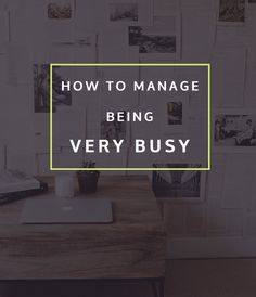 (image source) Most weeks, my schedule is pretty packed. I'm never at a lost for items to add to my to-do list, and my planner never goes untouched. If I'm being honest, I'm still working to find the right work/life balance. But one thing I have gotten much better at is managing life as a …