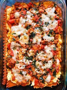 Vegan & Gluten-Free Lasagna — Kale Me Maybe - Trendswoman Dairy Free Recipes, Raw Food Recipes, Vegan Gluten Free, Vegetarian Recipes, Dairy Free Lasagna, Vegan Lasagna Recipe, Baked Pasta Dishes, Baked Pasta Recipes, Recipe For 4