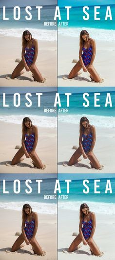 Lost At Sea // Lifestyle LR Presets. Actions